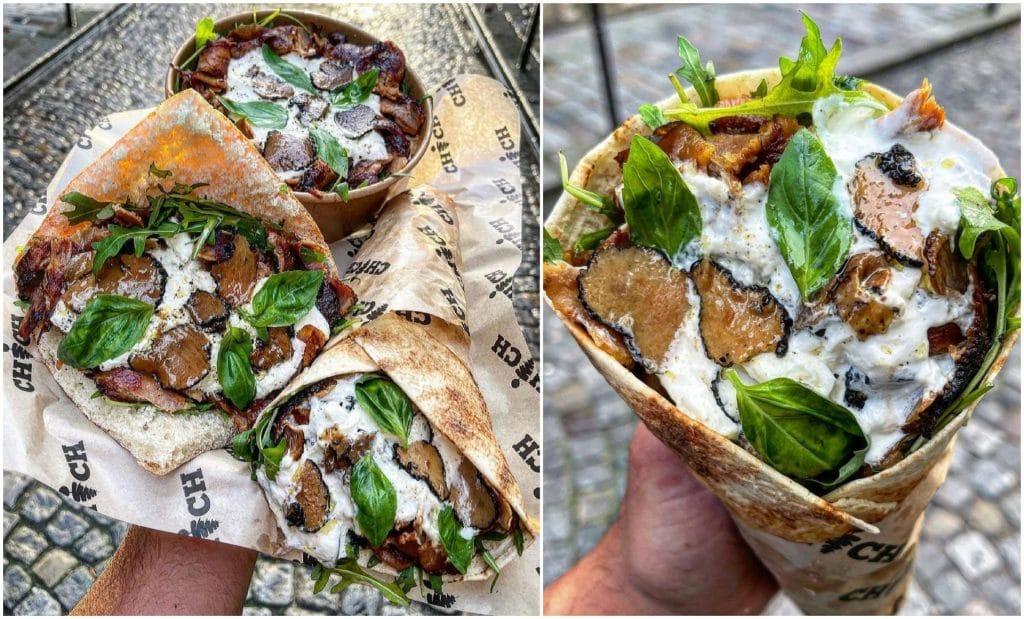 Kebab à la truffe Paris LUKS KEBAB