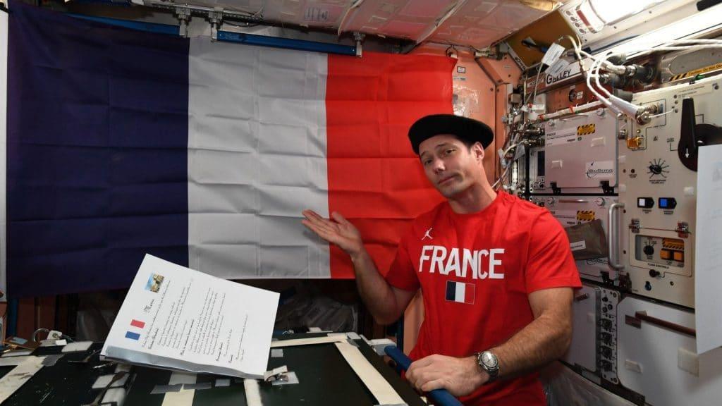 Insolite : Le 14 juillet depuis l'espace par l'astronaute Français Thomas Pesquet !