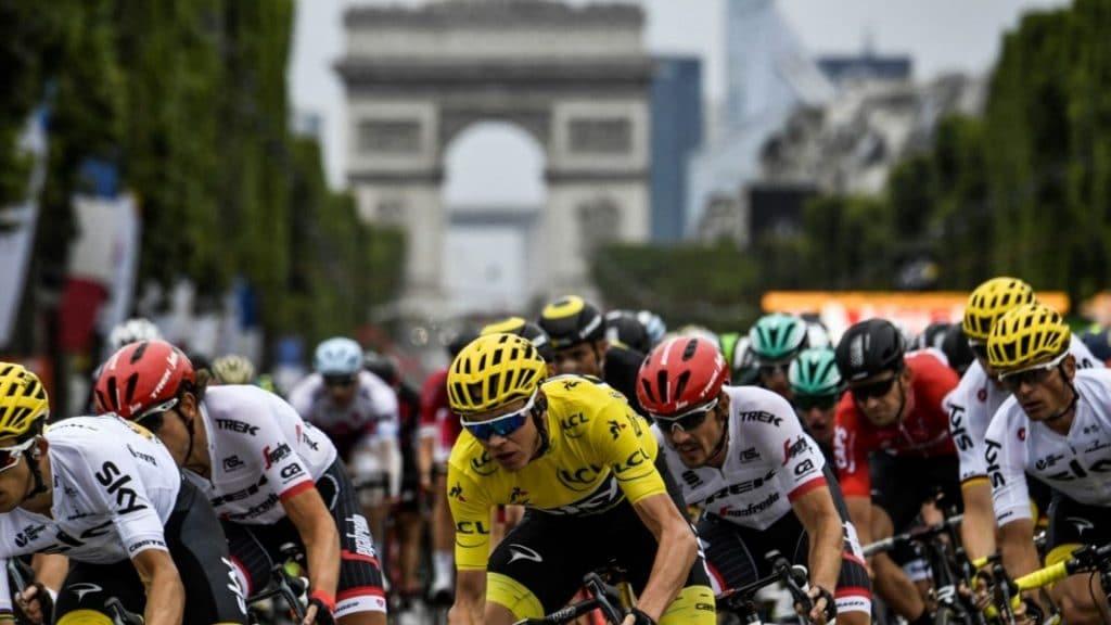 tour de france paris arrivée champs-élysées cyclisme