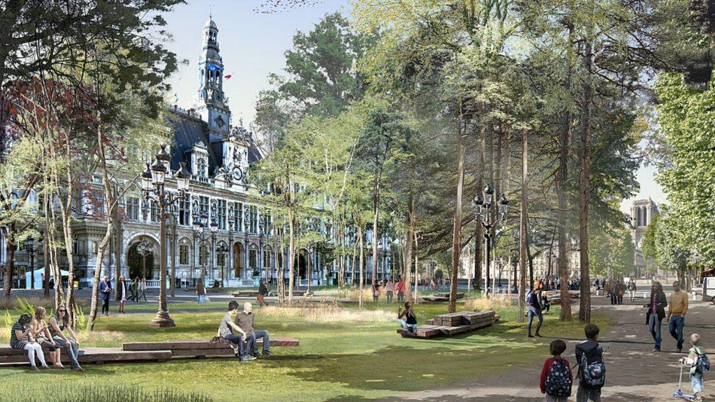 forets urbaines paris nature environnement anne hidalgo projet végétation verdure