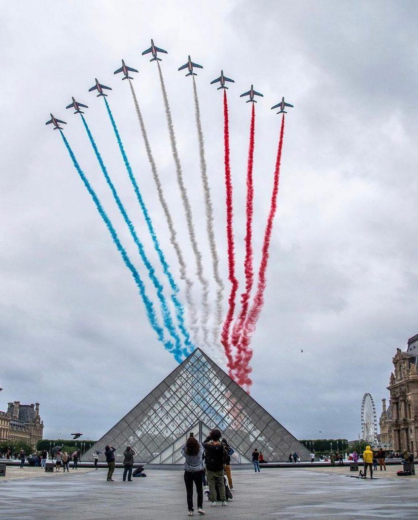 Patrouille de France 14 juillet en images
