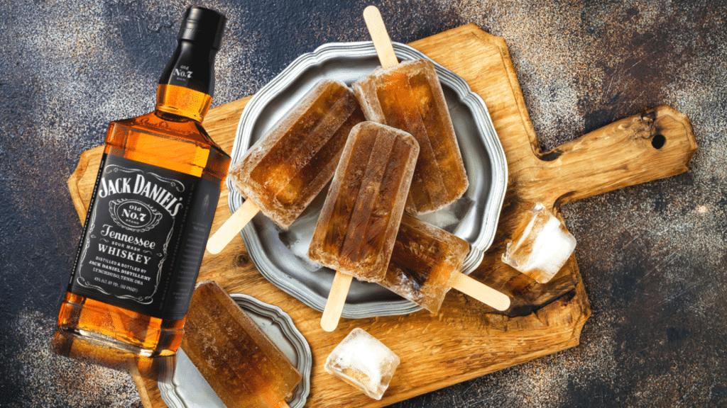 Insolite recette glaces Jack Daniel's