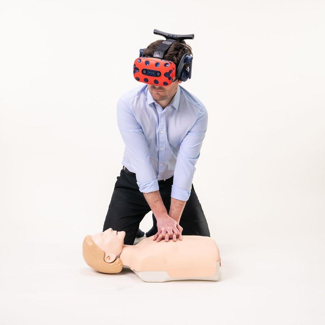secourisme vr paris cours réalité virtuelle d'un seul geste