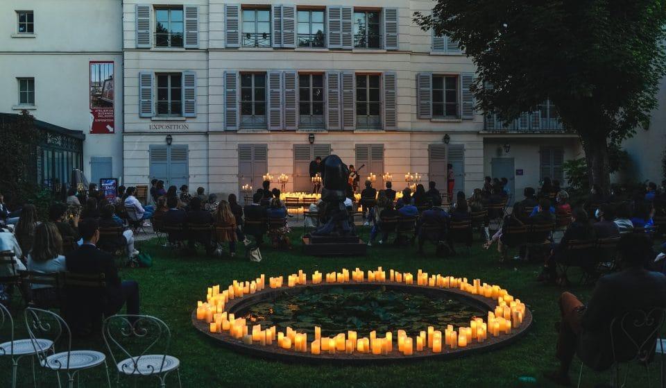 Cet été, de féériques concerts à la bougie en open air donnés au coeur du Musée de Montmartre !