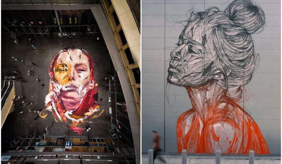 Street art : 2 nouvelles fresques monumentales signées Hopare à Paris !