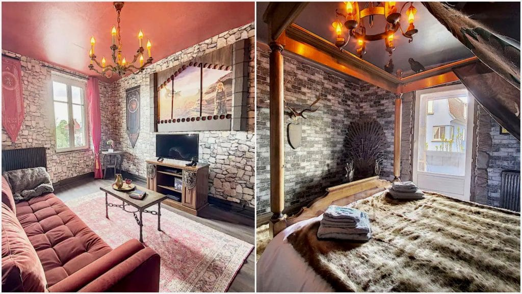 Logement insolite France Airbnb Game of Thrones