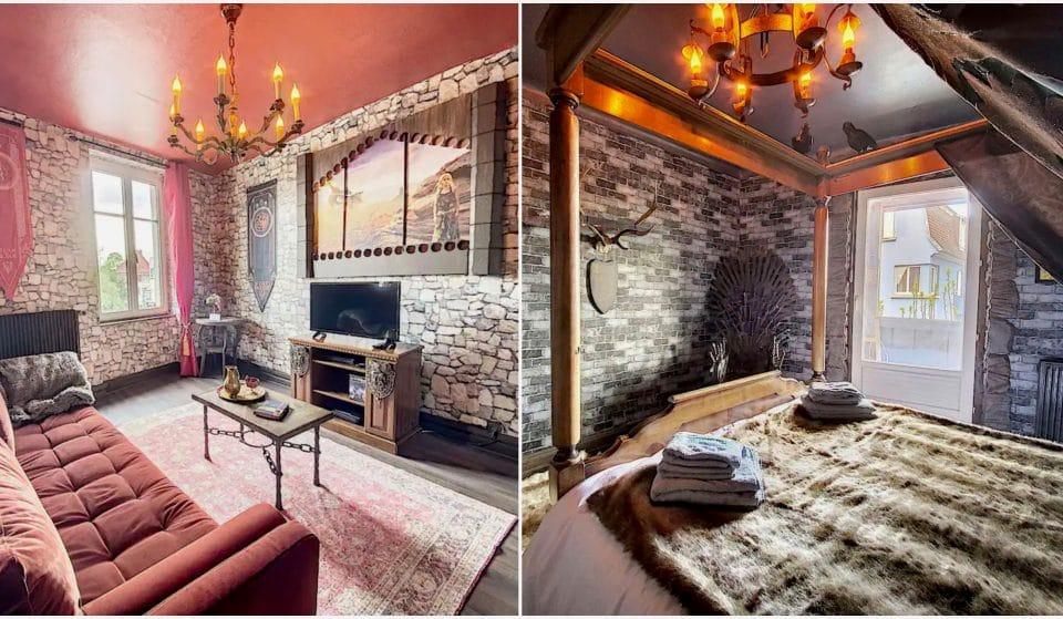 Insolite : un logement Airbnb entièrement décoré sur le thème de Game of Thrones en France !
