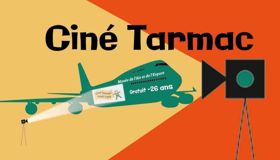 Ciné Tarmak cinéma plein air Boeing 747 Musée de l'Air et de l'Espace