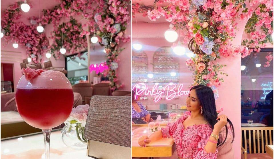 Alerte spot Instagrammable : «Pinky Bloom», le tout nouveau Salon de Thé girly près de la Tour Eiffel !