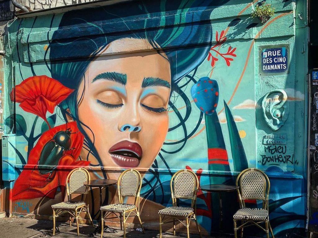 Street art Paris cet été