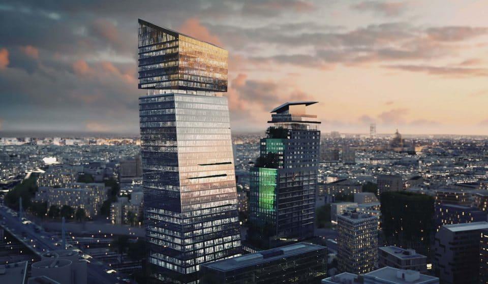 Un immense Hôtel suspendu au dessus de Paris va ouvrir au sommet des Tours DUO !