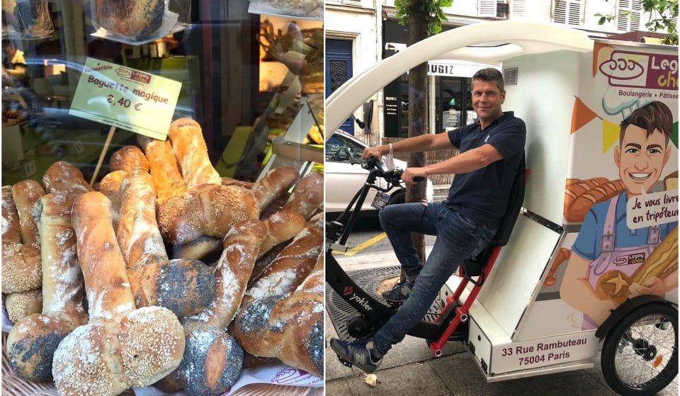 Insolite : la boulangerie coquine Legay Choc vous livre désormais à Paris en Tripo(r)teur !