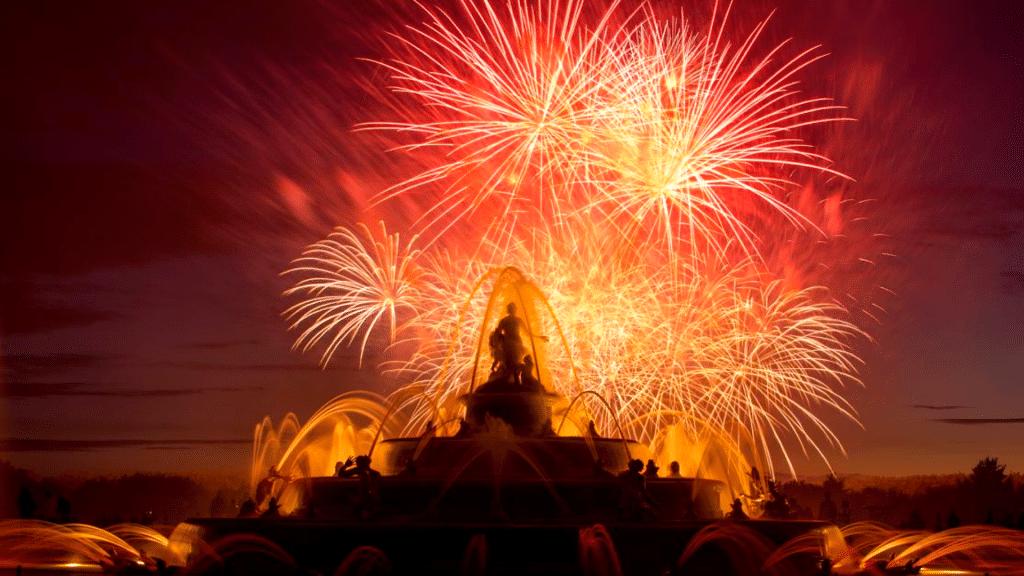 Les Nocturnes de Feu : une soirée exceptionnelle dédiée aux feux royaux au Château de Versailles !