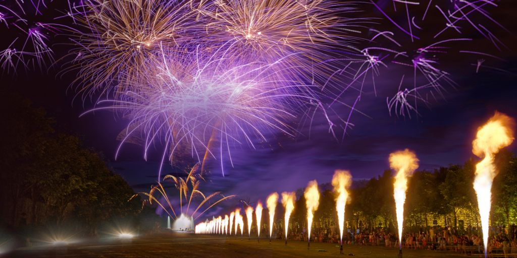Nocturnes de Feu 15 août Versailles