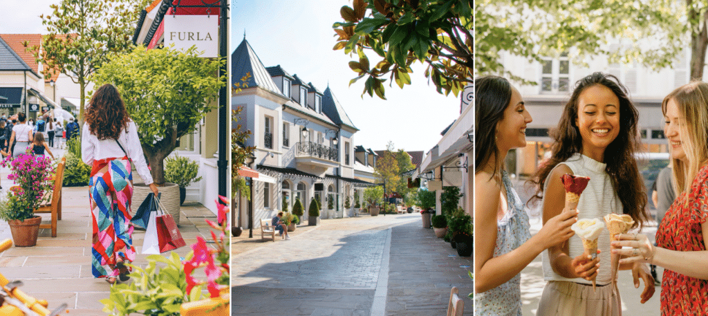 Shopping plein air offres surprises La Vallée Village