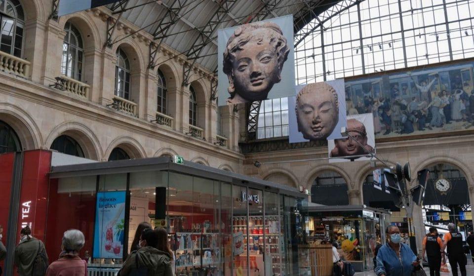 Culture : Les musées Carnavalet et Guimet s'exposent dans les gares parisiennes cet été !
