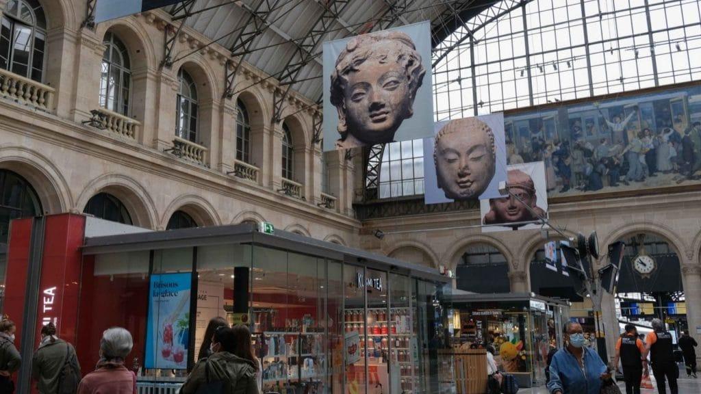 paris exposition gare culture photo été plein air