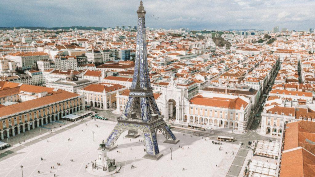 tour eiffel lisbonne portugal paris imovirtual immobilier