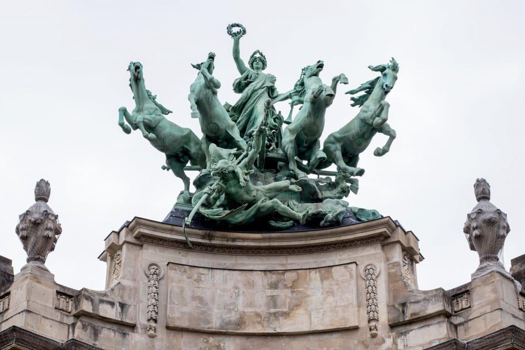 exposition en plein air paris statues