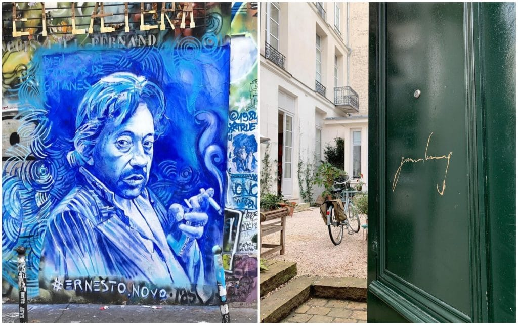 Maison Gainsbourg Musée 2022 librairie café piano bar
