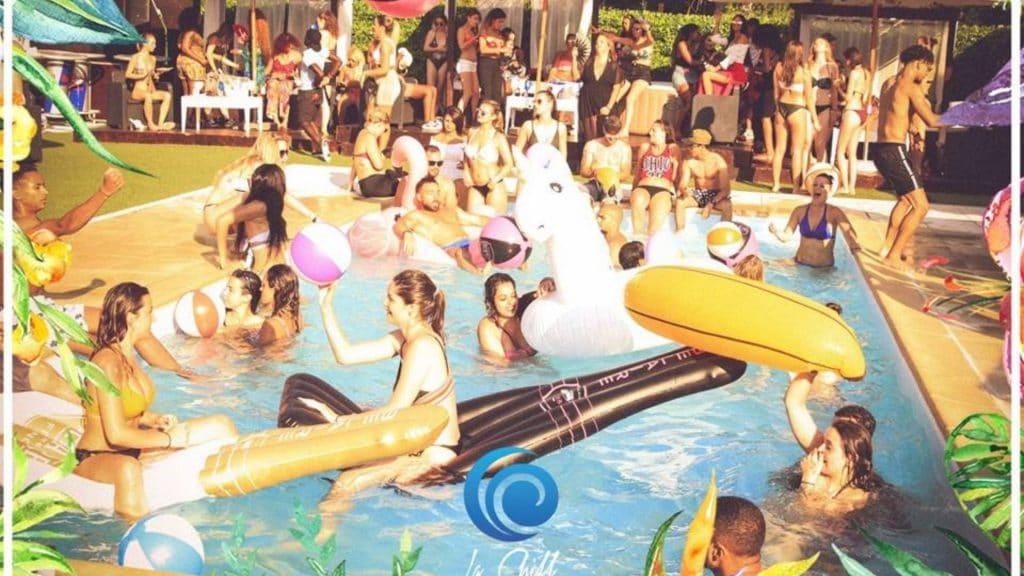pool party la chill paris summer party fete piscine dj set