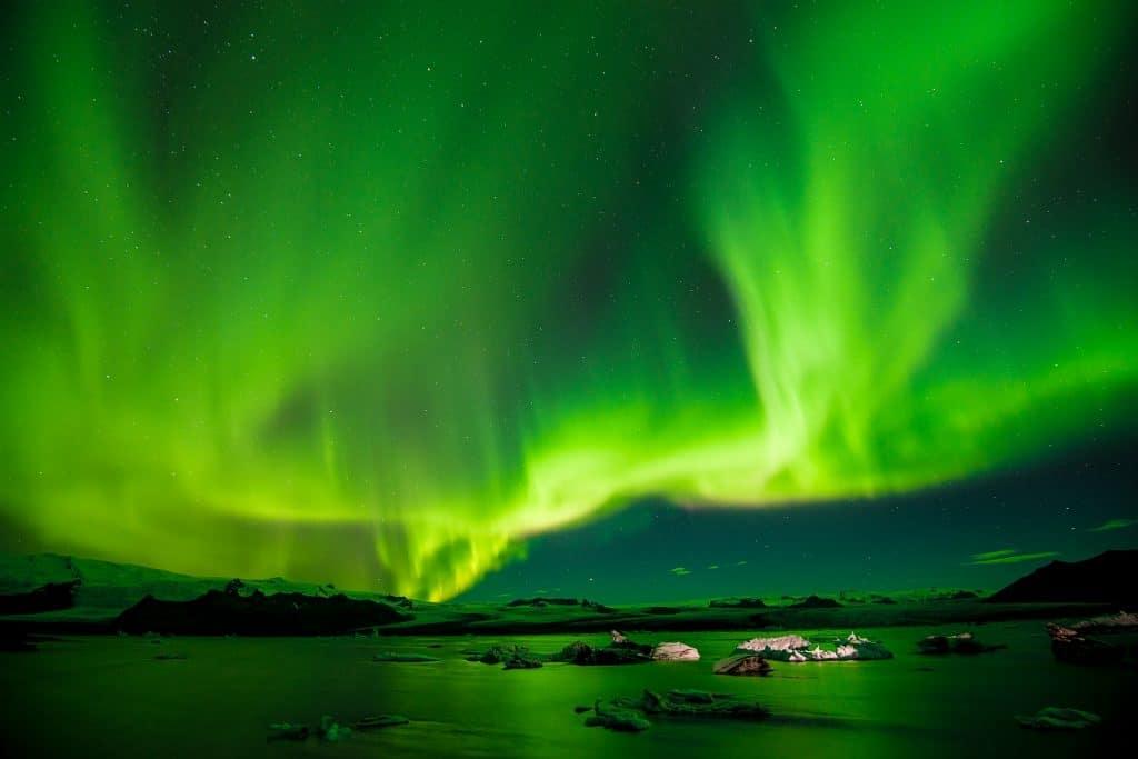 aurores boréales espace thomas pesquet iss station spatiale internationale
