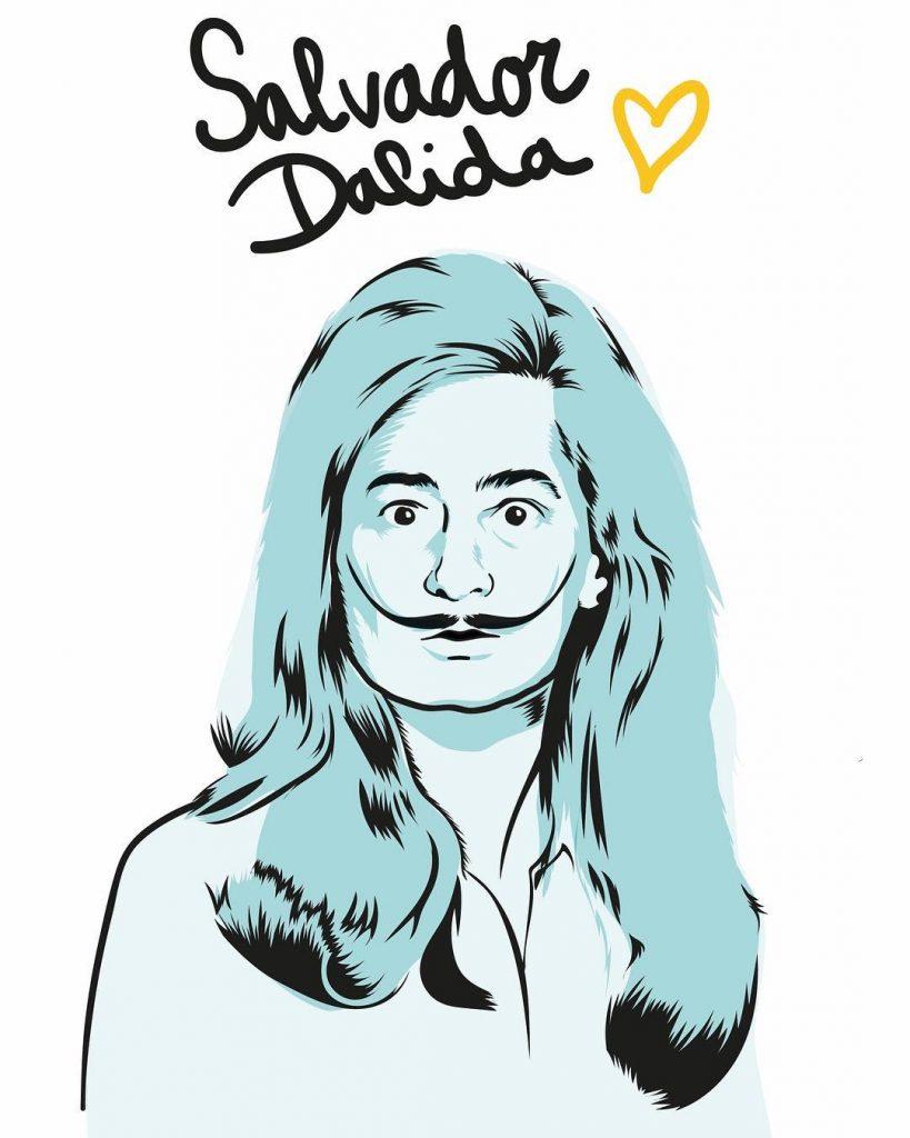Illustrations détournées humour jeux de mots graphiste Julie Chérèque