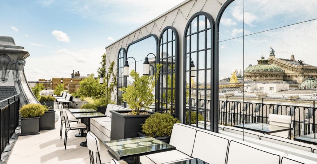 Nouveau rooftop Sequoia Paris