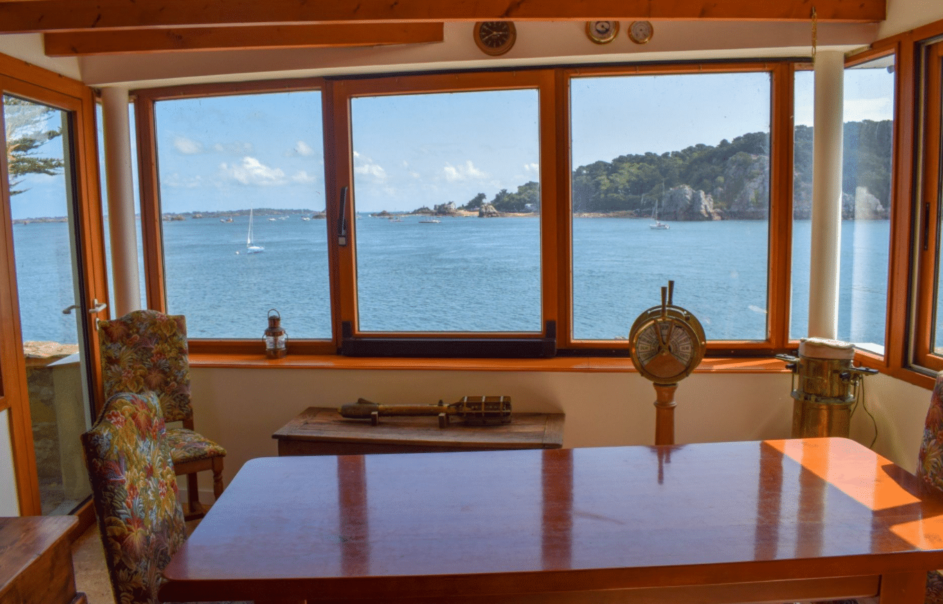 île privée à vendre bretagne france nature vue estuaire trieux