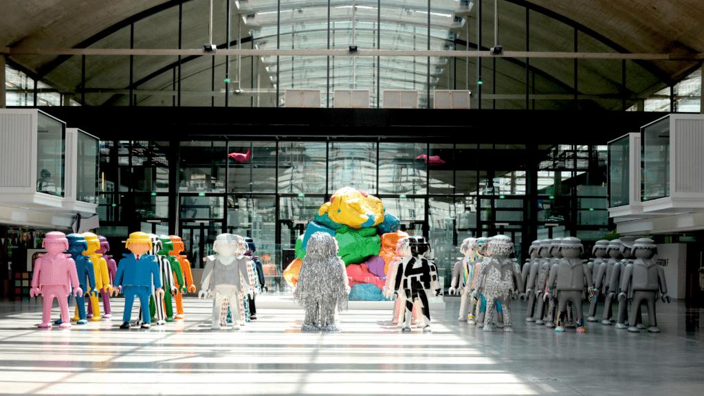 """""""Biennale de Paname"""" : l'exposition d'art contemporain s'installe dans une serre à Saint-Ouen pour sa 3ème édition !"""