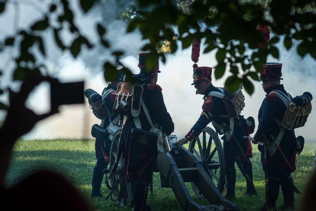 napoléon bicentenaire versaille paris événement reconstruction historique