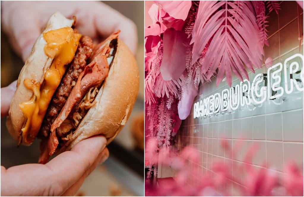 NAKED BURGER smash burger vegan Californie Paris Saint-Germain-des-Prés