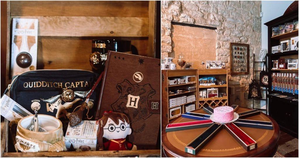 Pop-up store The Wizard's Shop de retour Paris Harry potter