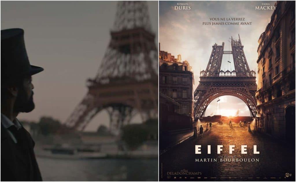 Film Eiffel cinéma Tour Eiffel Romain Duris