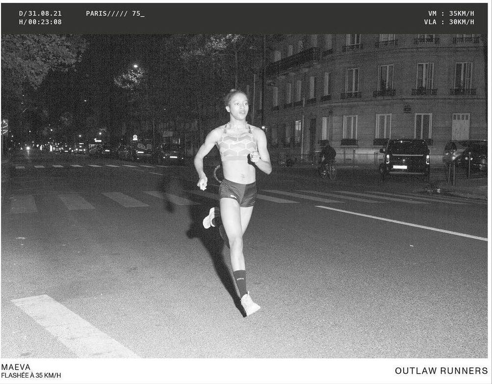 Paris coureurs flashés 30 km/h radars