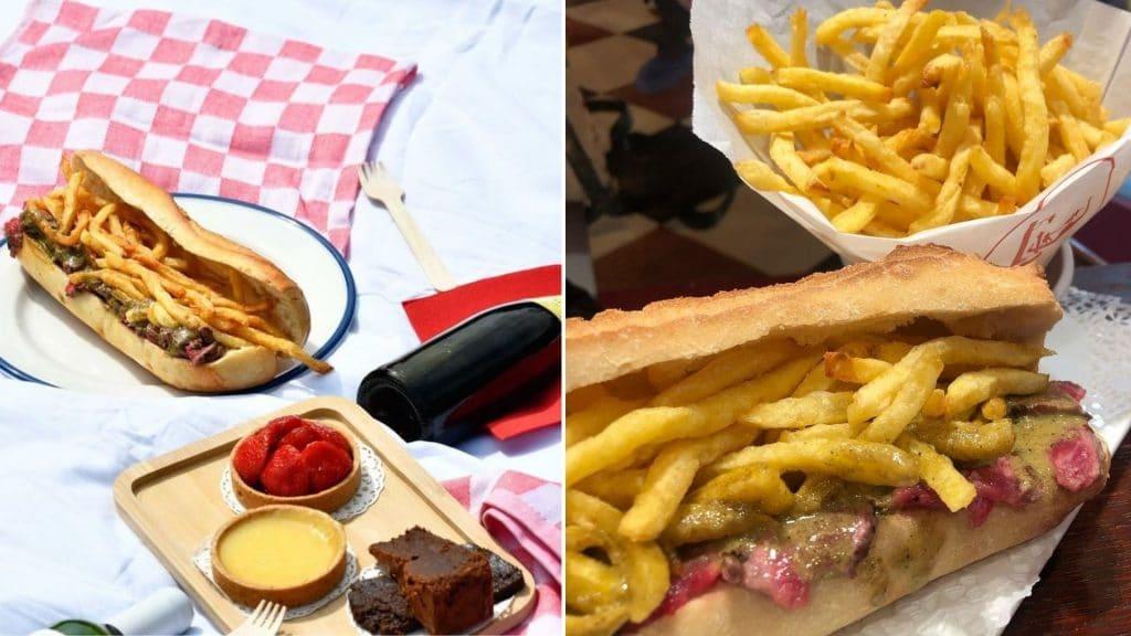 la baguette du relais paris street food entrecote