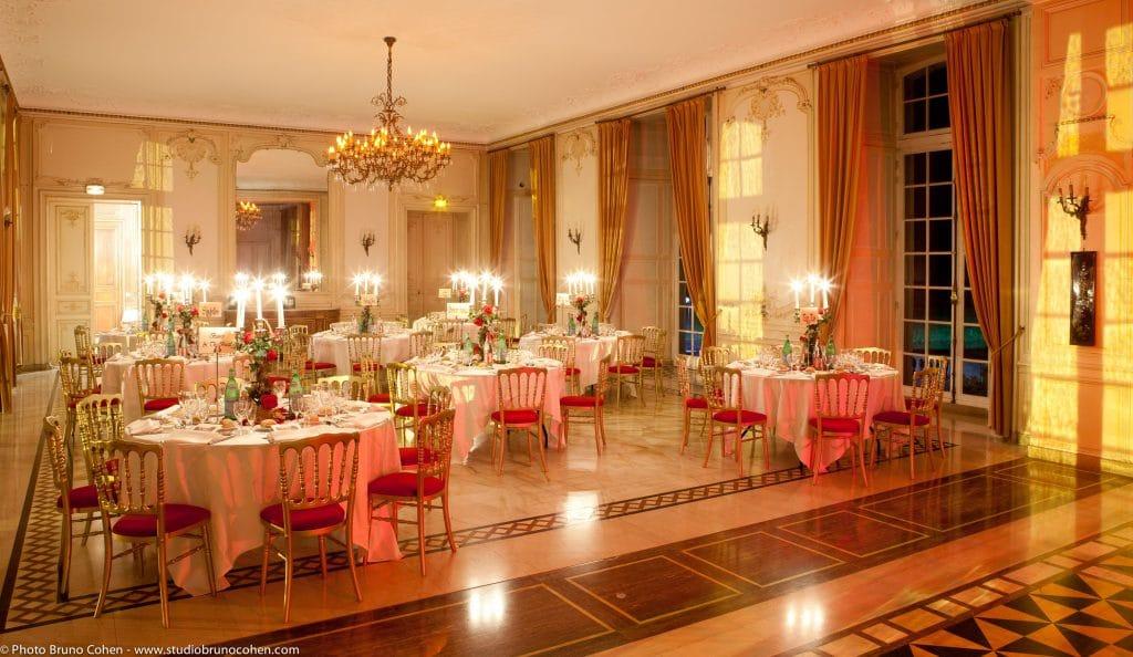 Gala bicentenaire Napoléo, Château bal dîner danse