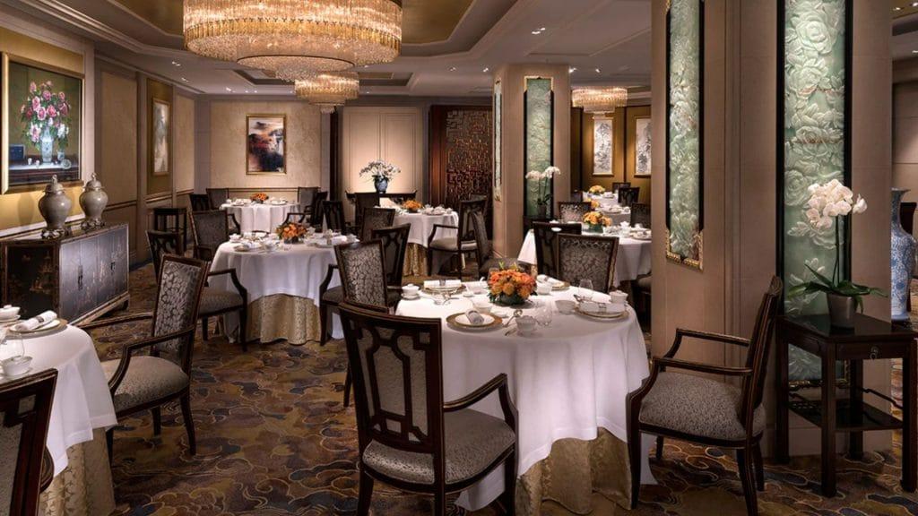 shang palace paris restaurant chinois réouverture shangri la