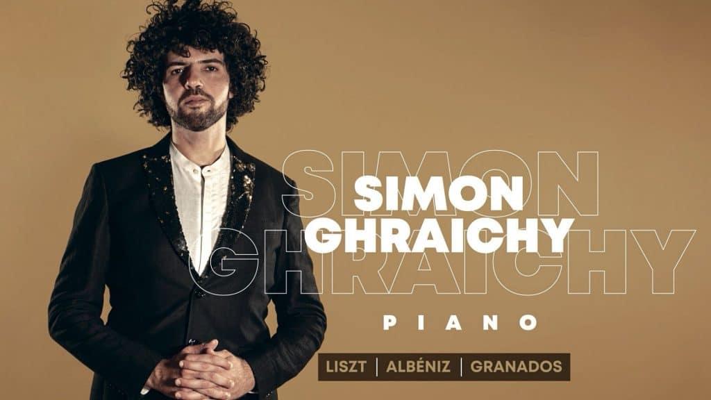 simon ghraichy concert piano paris octobre classique list albéniz granados