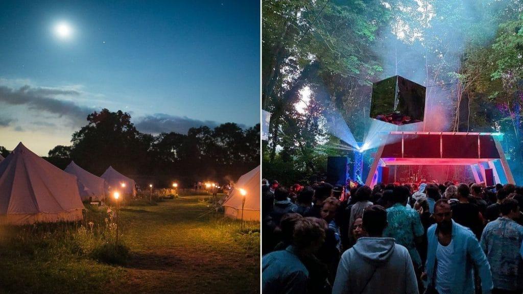Pour sa 4ème edition, le Nostromo Festival s'installe dans le parc d'un château à une heure de Paris !