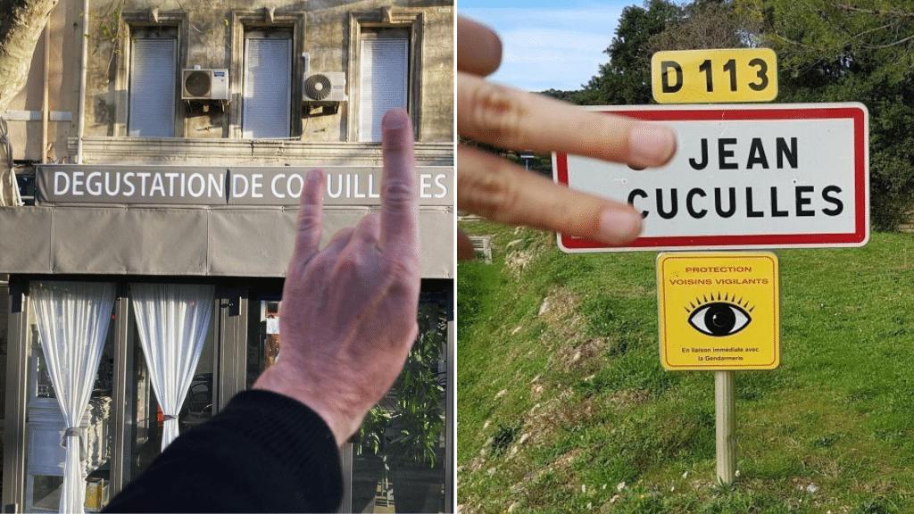 Mon doigt dans ta rue Instagram Matthieu Vergote jeux de mot
