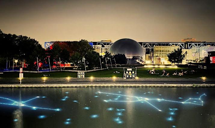 «Lumières !» : deux installations monumentales illumineront La Villette pour les fêtes de fin d'année !