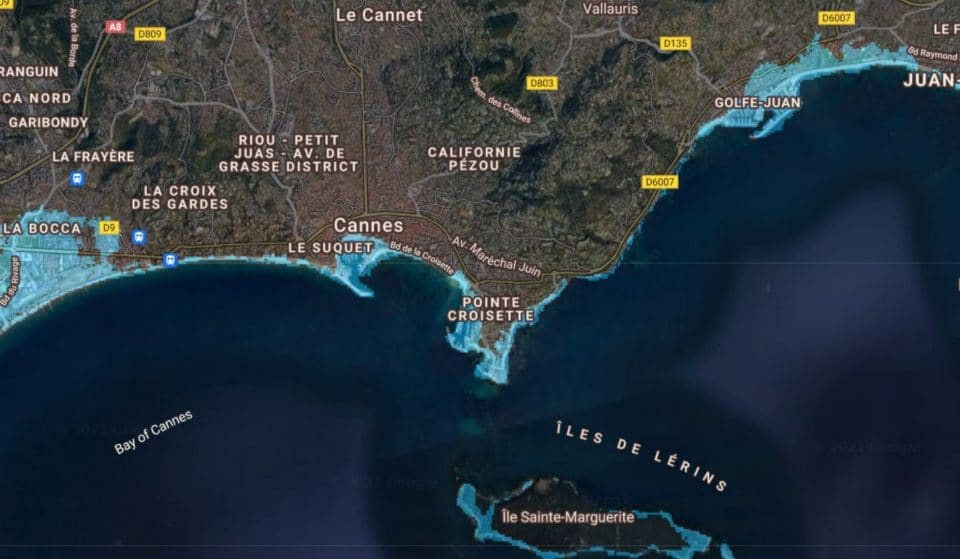 Voici à quoi ressembleront les villes côtières françaises avec la montée du niveau de la mer