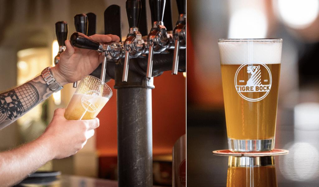 Tigre Bock 100 ans bière jeu de piste Paris