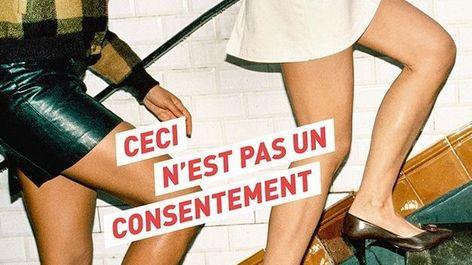 Ceci n'est pas un consentement expo photo HandsAway violences sexuelles sexistes Paris