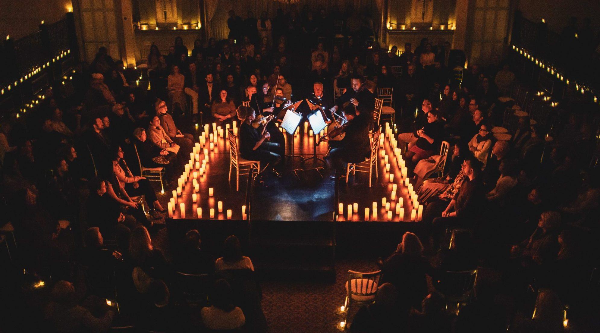 vela de concierto cuarteto a la luz de las velas michael jackson parís