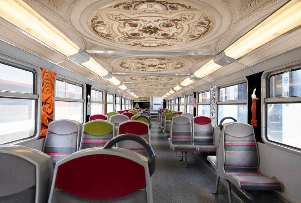 Train Paris Musées RER C Paris
