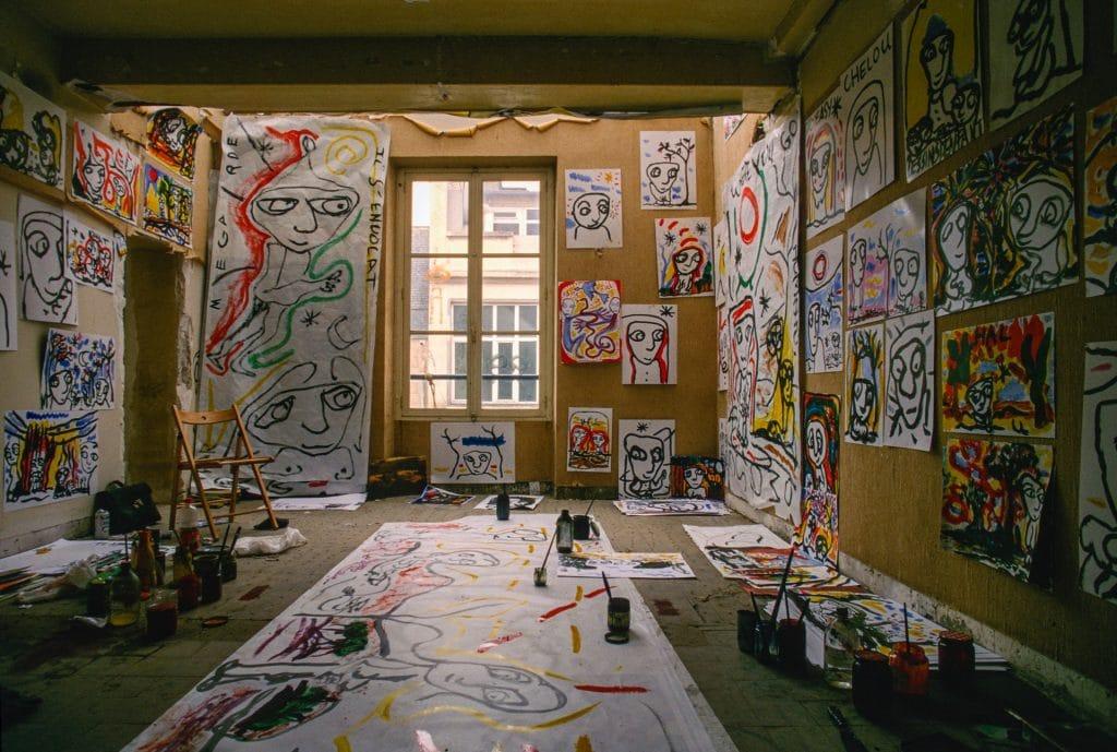 ateliers d'artistes journées portes ouvertes paris montreuil art