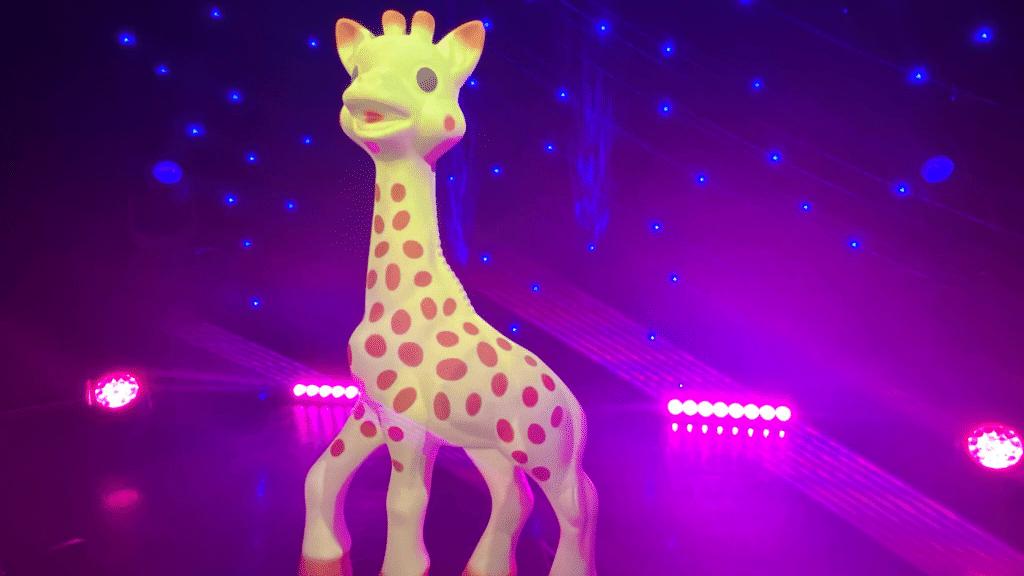 Sophie la Girafe Musée Grévin