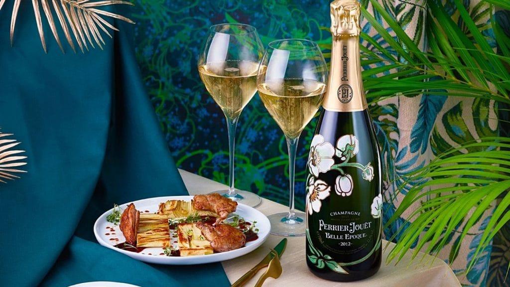 Participez à une e-dégustation champagne Grand Cru par la Maison Perrier-Jouët, découvrez la cuvée Belle Époque 2012, en hommage au Chardonnay !